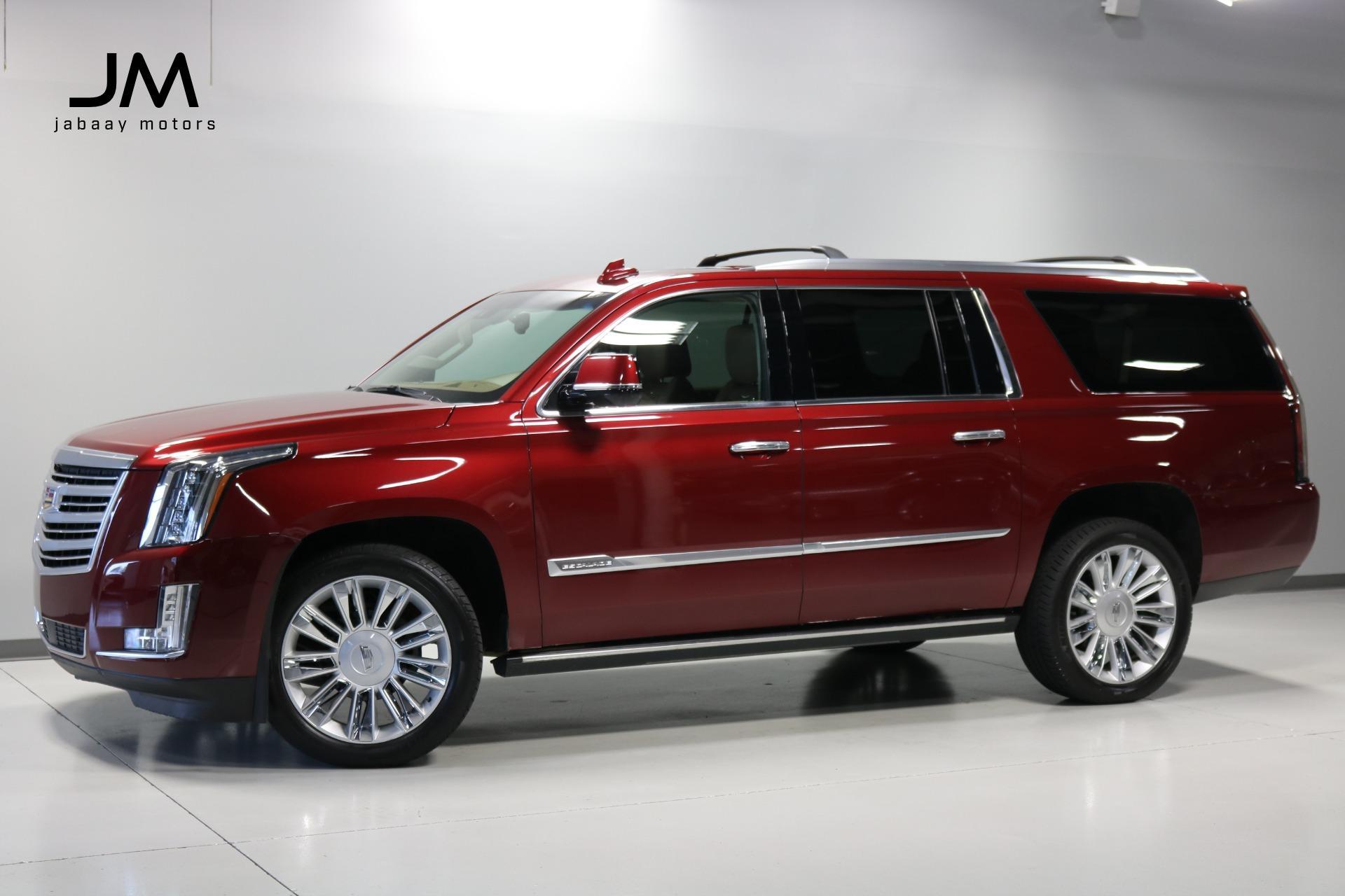 Used 2016 Cadillac Escalade Esv Platinum For Sale Sold Jabaay Motors Inc Stock Jm7283
