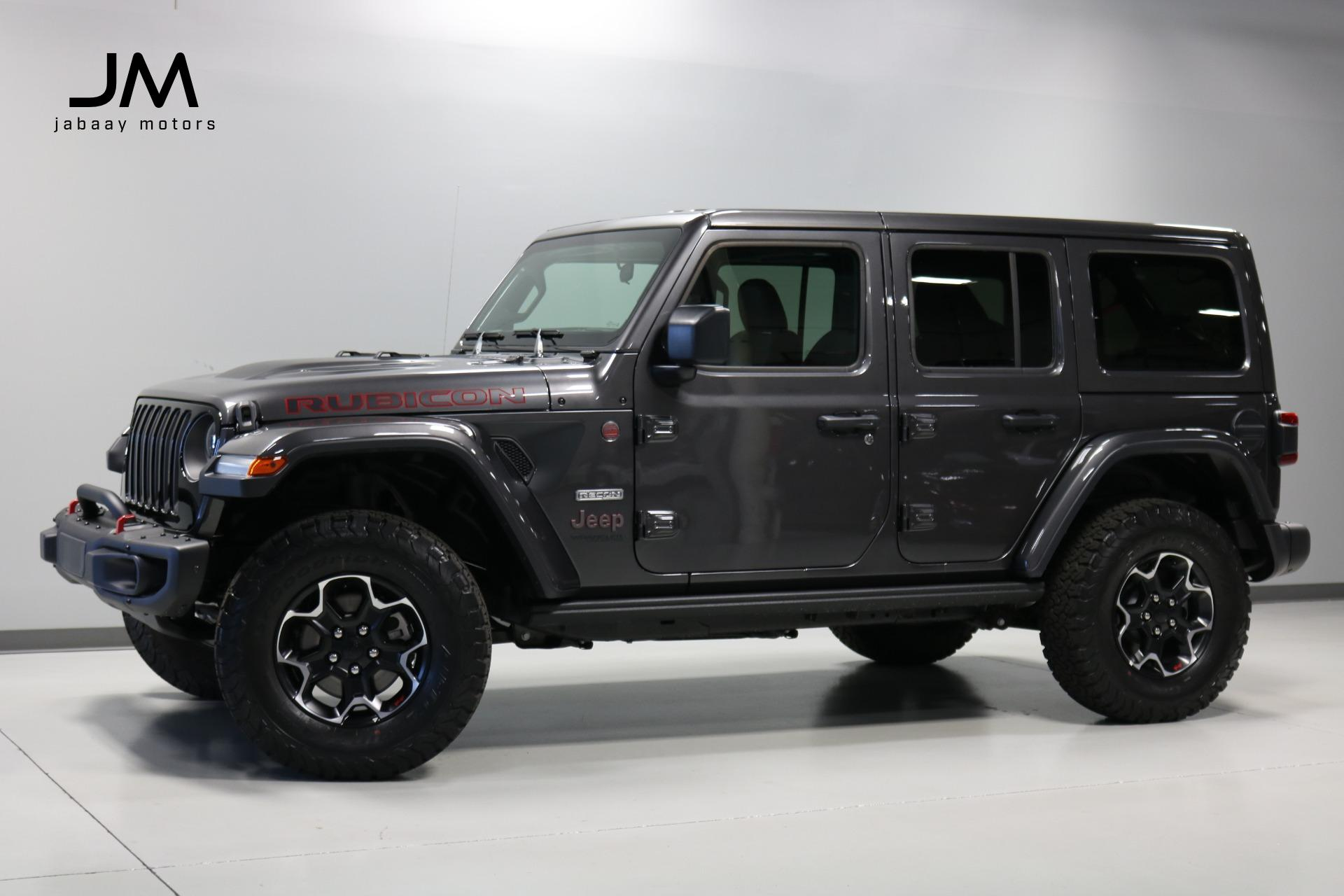 Used 2020 Jeep Wrangler Unlimited Rubicon Recon For Sale Sold Jabaay Motors Inc Stock Jm7399