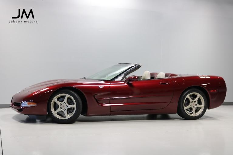 Used 2003 Chevrolet Corvette 50th Anniversary for sale $35,000 at Jabaay Motors Inc in Merrillville IN