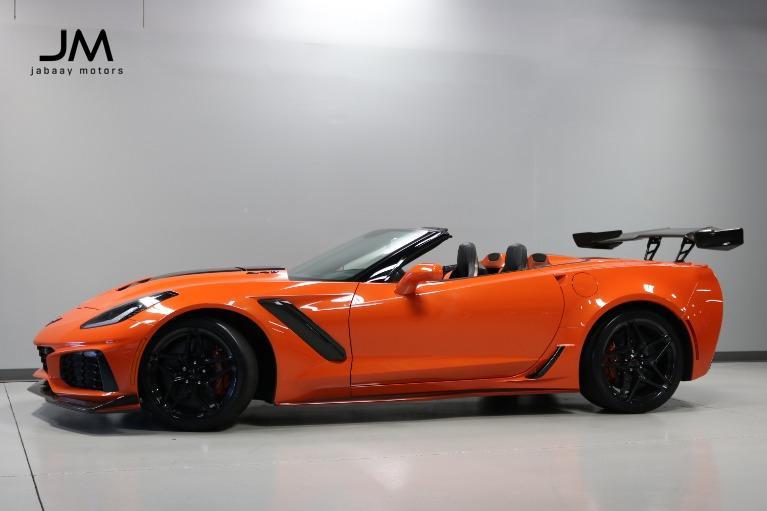 Used 2019 Chevrolet Corvette ZR1 ZTK Track Package for sale $185,000 at Jabaay Motors Inc in Merrillville IN