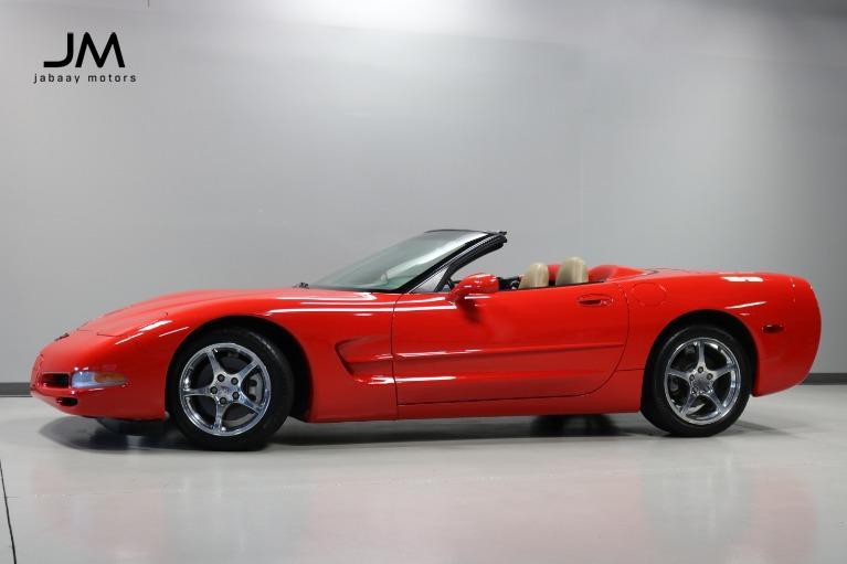 Used 2000 Chevrolet Corvette for sale $23,000 at Jabaay Motors Inc in Merrillville IN