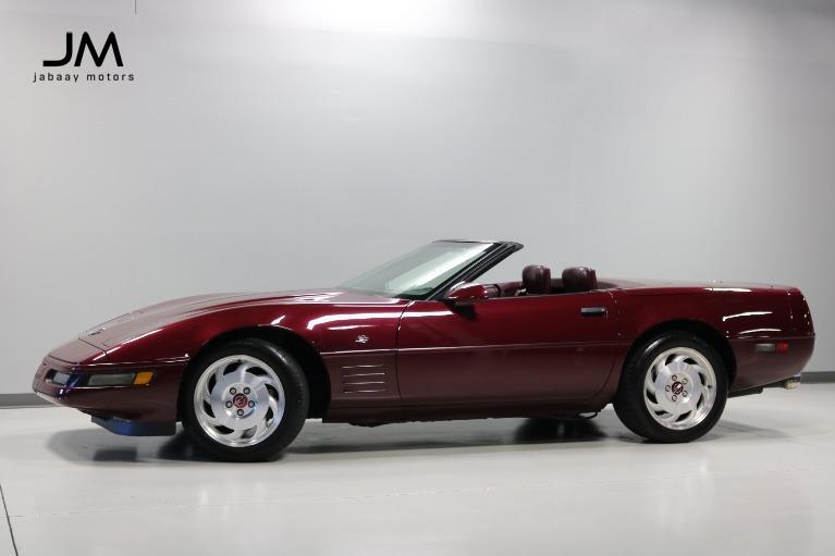 Used 1993 Chevrolet Corvette 40th Anniversary for sale $23,000 at Jabaay Motors Inc in Merrillville IN