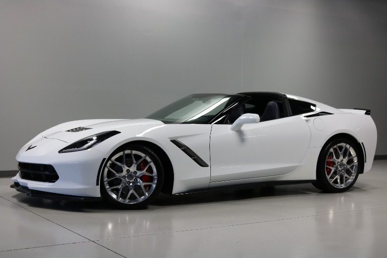Used 2016 Chevrolet Corvette Stingray Z51 2dr Coupe w/3LT for sale $45,000 at Jabaay Motors Inc in Merrillville IN